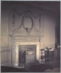 Fireplace, Lindsey House